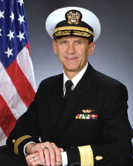 Radm. Jan H. Nyboer, USNR