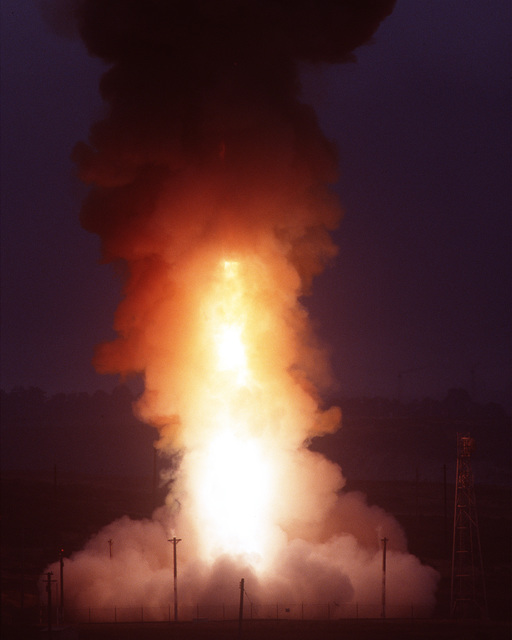 At 7:59 am PDT the second of two unarmed Minuteman III Intercontinental Ballistic Missiles is successfully launched
