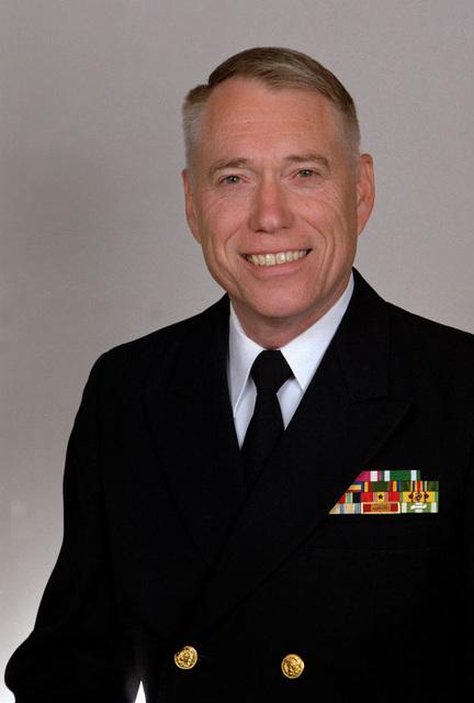 CAPT. Paul V. Harrison, USN(Rear Admiral Selectee)