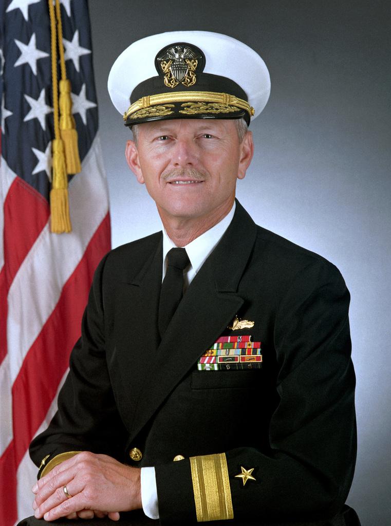 Rear Admiral (lower half) Williams H. Butler, USNR
