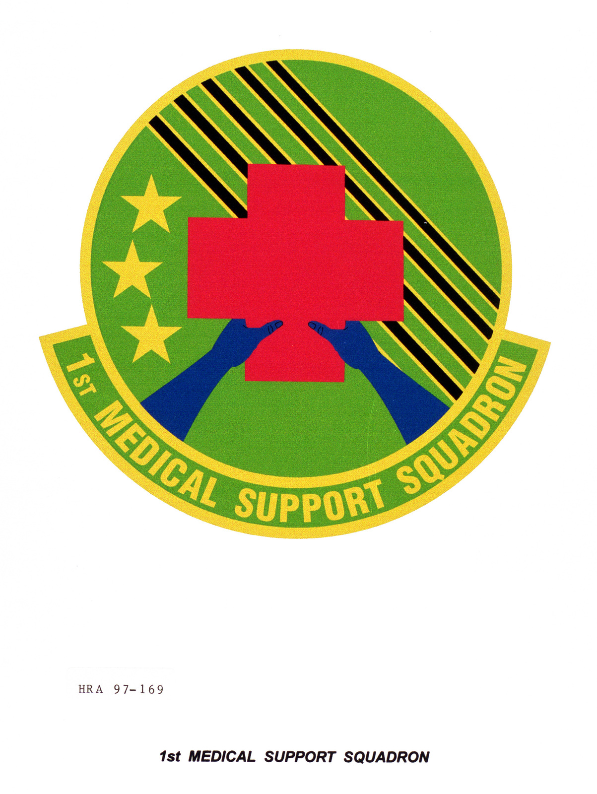 Air Force Organizational Emblem: 1ST Medical Support Squadron, Air Combat Command