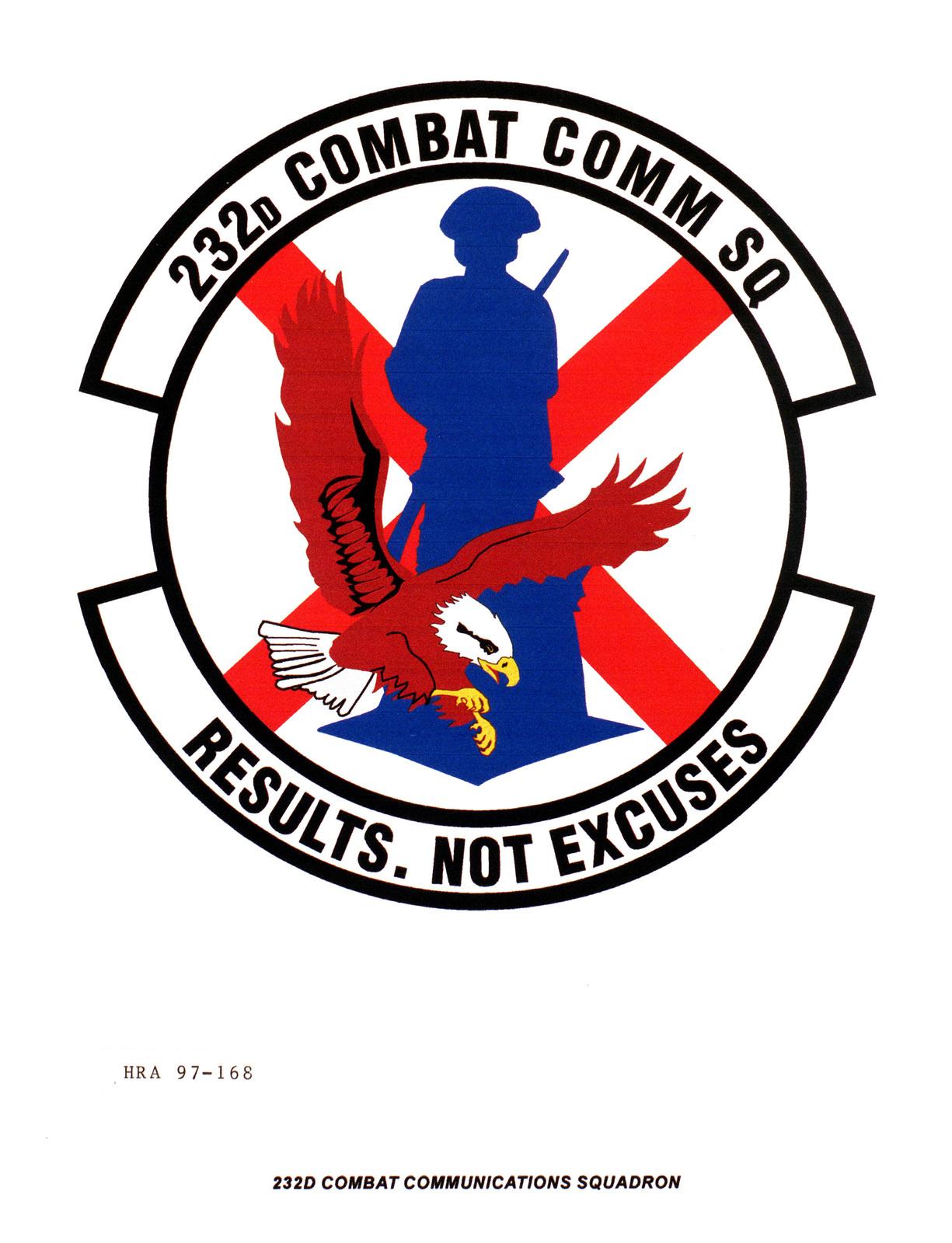 Air Force Organizational Emblem: 232nd Combat Communications Squadron, Alabama Air National Guard