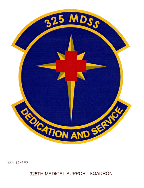 Air Force Organizational Emblem: 325th Medical Support Squadron, Air Education and Training Command