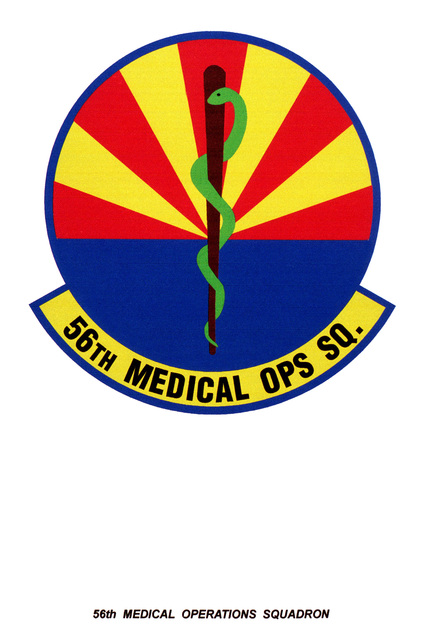 Air Force Organizational Emblem: 56th Medical Operations Squadron, Air Education and Training Command