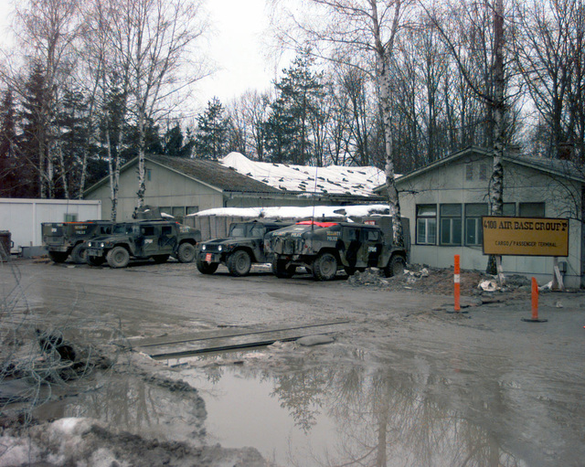 The 4100 Group (Provisional) cargo/passenger terminal is one of the first and last places personnel see when they are assigned to Tuzla Air Base in support of Operation JOINT GUARD. On December 20, 1996, the Implementation Force (IFOR) mission came to a conclusion and the 1ST Infantry Division was selected to continue serving in Bosnia as part of the new Stabilization Force (SFOR). This decision brought to close the peace mission of Operation JOINT ENDEAVOR and has been the beginning for the current operation known as Operation JOINT GUARD. JOINT GUARD will continue to monitor the militaries of the former warring factions and provide a climate of stability