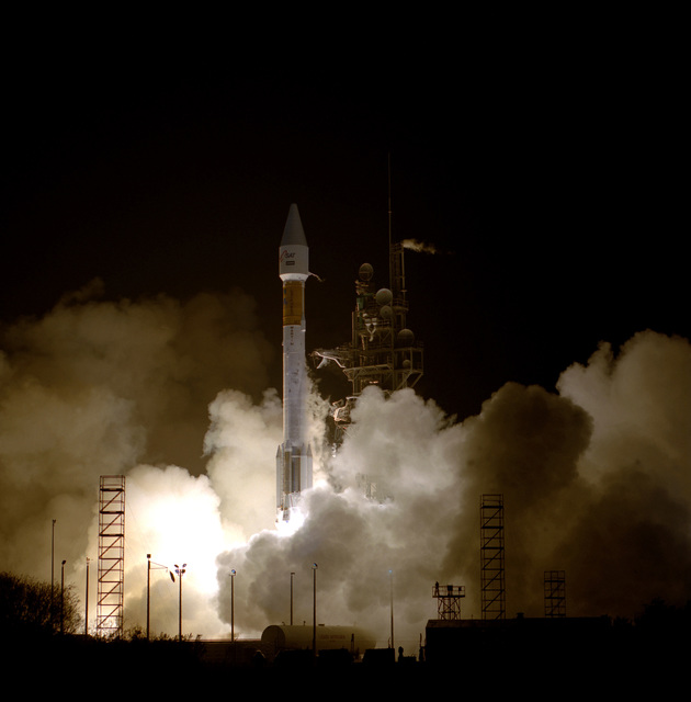 The Air Force and Lockheed Martin Launch Team successfully launched the ATLAS IIAS Space Launch vehicle designated AC-127, carrying a communications satellite for Japan Satellite Systems, Inc. (JCSAT-4) from Space Launch Complex 36B, CCAS, today at 8:42 P.M. EST