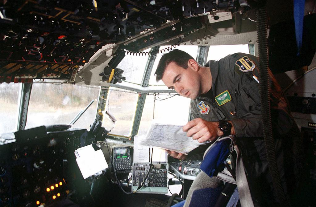 61st Airlift Squadron (AS) Co Pilot Captain Steve Wisser