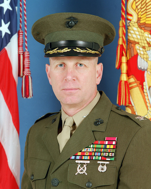 COL. Thomas M. O'Leary,1ST Commanding Officer, Special Purpose Marine Air Ground Task Force (SPMAGTF)