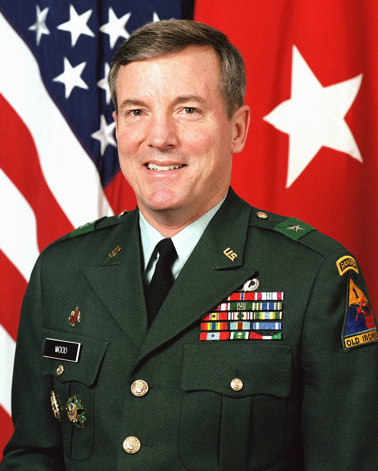 Brigadier General John R. Wood, USA (uncovered)