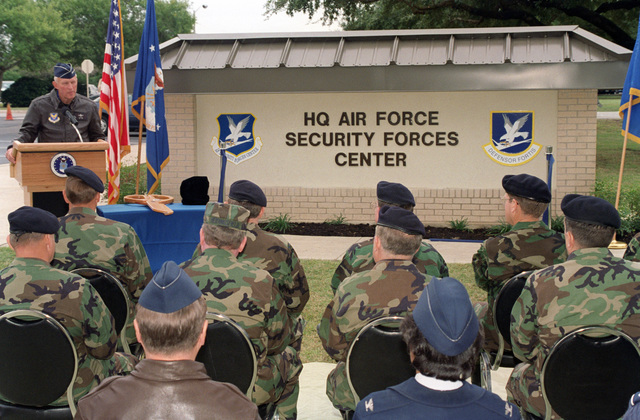 US Air Force (USAF) Security Police (SP) from the 820th Security
