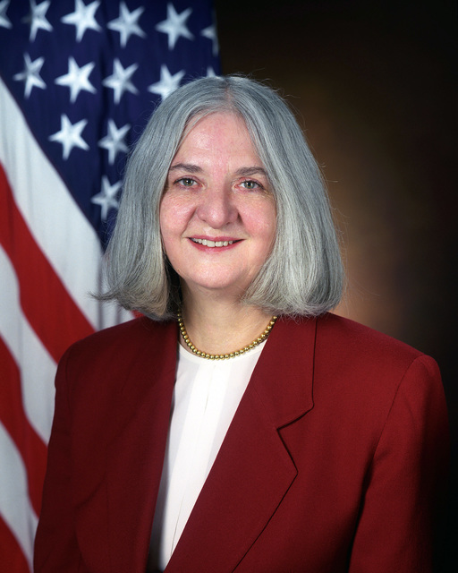 Portrait of DoD Dr. Susan J. Koch, Deputy Assistant Secretary of Defense, Threat Reduction Policy, (U.S. Army photo by Mr. Scott Davis) (Released) (PC-192957)