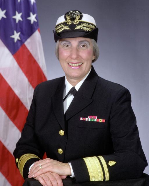 Rear Admiral (upper half) Joan M. Engel, USN