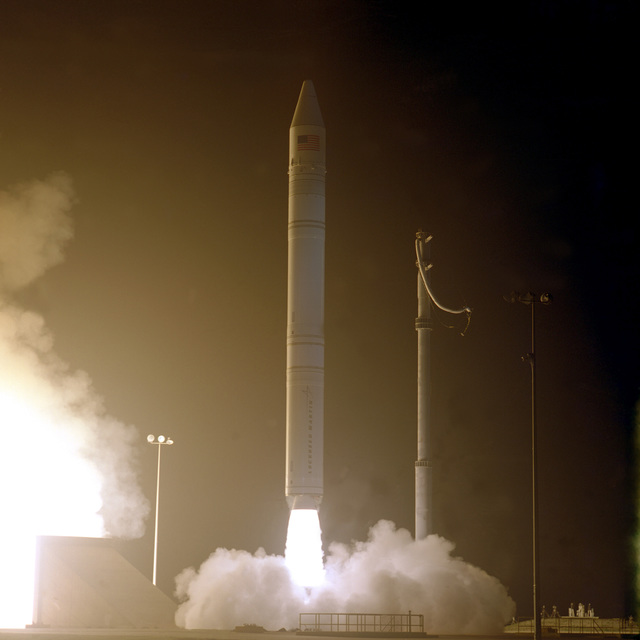 The NASA Lunar Prospector is successfully launched into space by a Lockheed Martin Athena II commercial launch vehicle. Liftoff occurred at 9:28 P.M. EST from Spaceport Florida Authority launch complex 46, the first commercial launch from this site