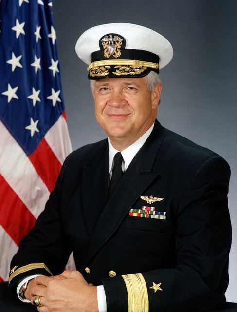 RADM Kenneth P. Barausky, Battle staff director (covered)