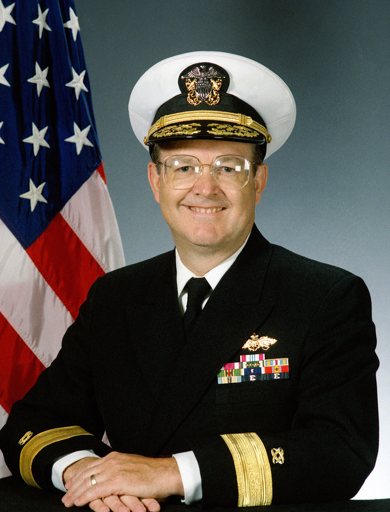 RADM Robert C. Marlay, Vice Commander (covered)