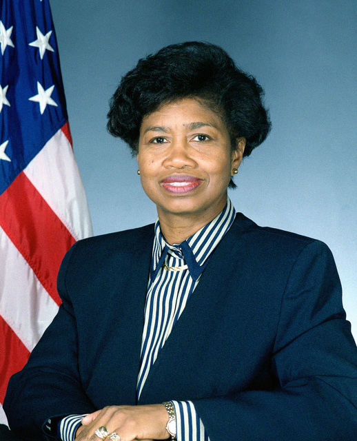 United States Navy Official photo of The Honorable Gladys J. Commons, Assistant Secretary of the Navy for Financial Management and Comptroller