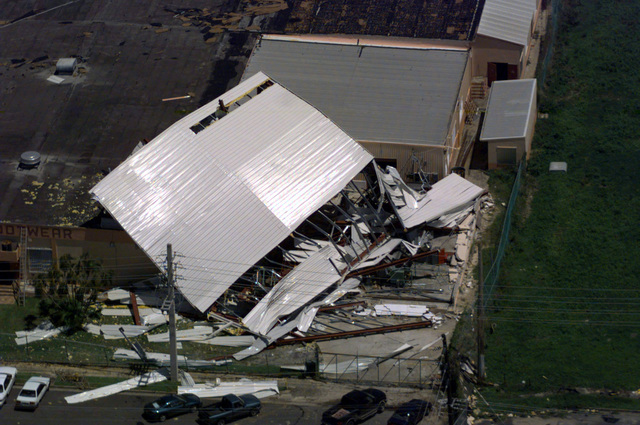 Hurricane George winds caused devastating damage to homes and property though out Puerto Rico and other neighboring Caribbean Islands