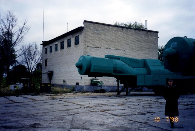 Ukraine - WMD - Dismantlement Project, October 1998 - Inspection team visit to unidentified former Soviet Union (FSU) Weapons of Mass Destruction (WMD) site