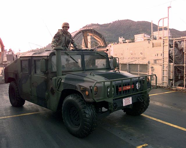 A US Marine Corps USMC Recruit 2nd Battalion Echo