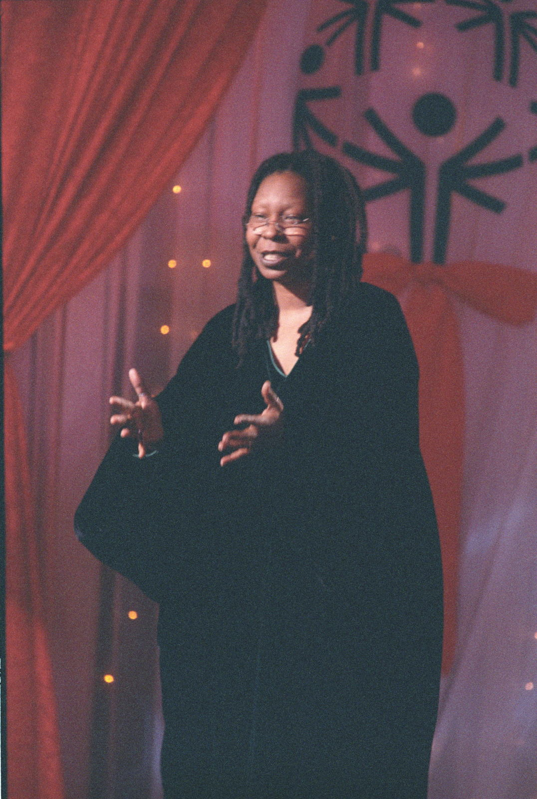 Photograph of Whoopi Goldberg Delivering Remarks at a White House Special  Olympics Dinner - U.S. National Archives Public Domain Image