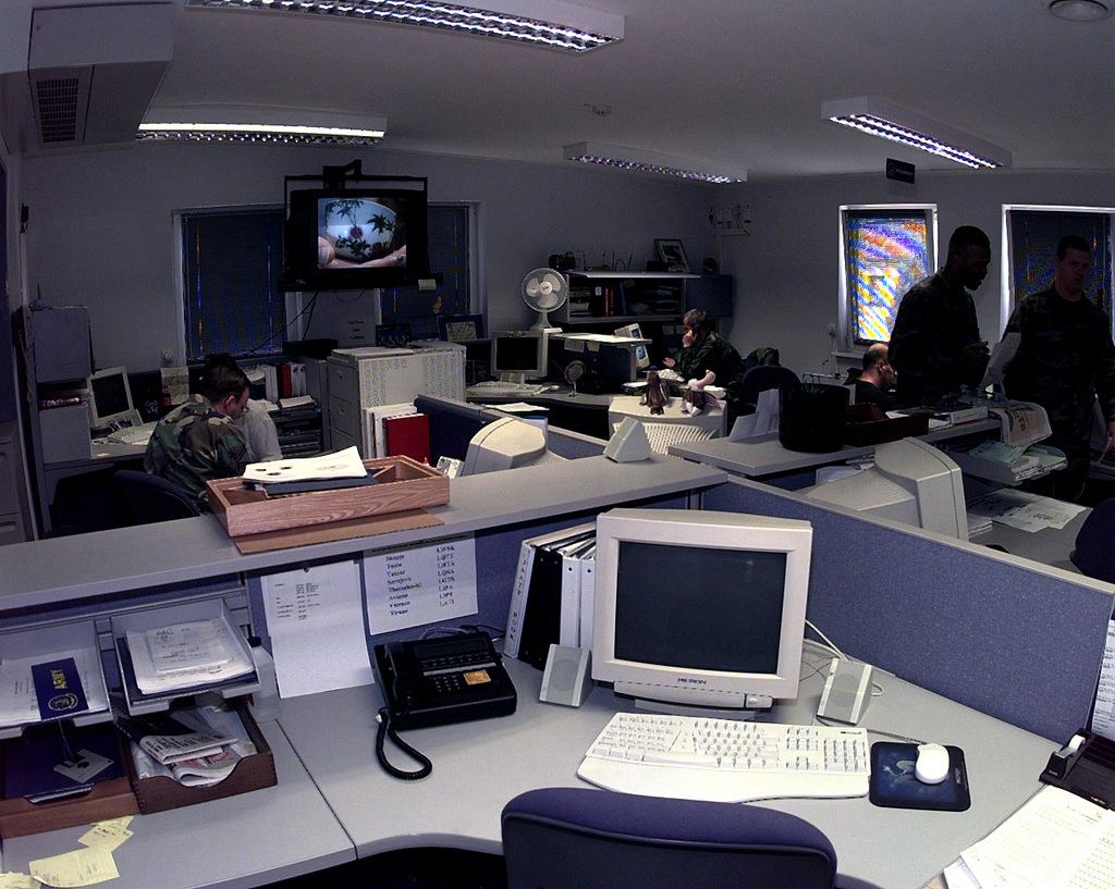 The Requisition center of the AMOCC (Air Mobility Operations