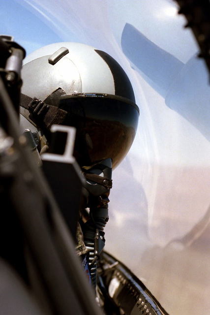 A 169th Fighter Wing F-16C Falcon, Block 52, aircraft from McEntire Air National Guard Station, South Carolina, participates in a Miniature Air-Launched Decoy (M.A.L.D.) exercise at Nellis Air Force Base, Nevada. The exercise began on 2 July 1999. The South Carolina Air National Guard is the only reserve/guard unit to receive this high-profile mission known as Supression of Enemy Air Defenses (S.E.A.D.)