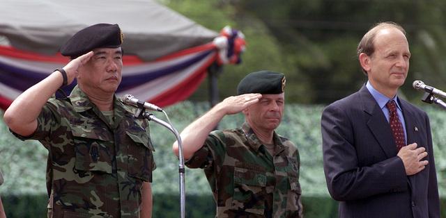 Royal Thai Army Colonel Sinchai Nutsatio commands the