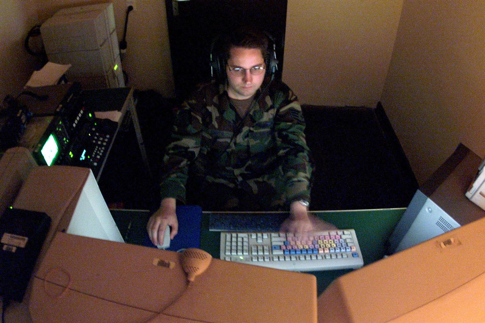 STAFF Sergeant (SSGT) Mike Smith, USAF, 1ST Combat Camera