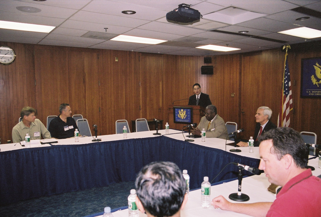 Council on Excellence in Government Session - Council on Excellence in Government session at HUD Headquarters, [with address by Deputy Secretary Roy Bernardi]