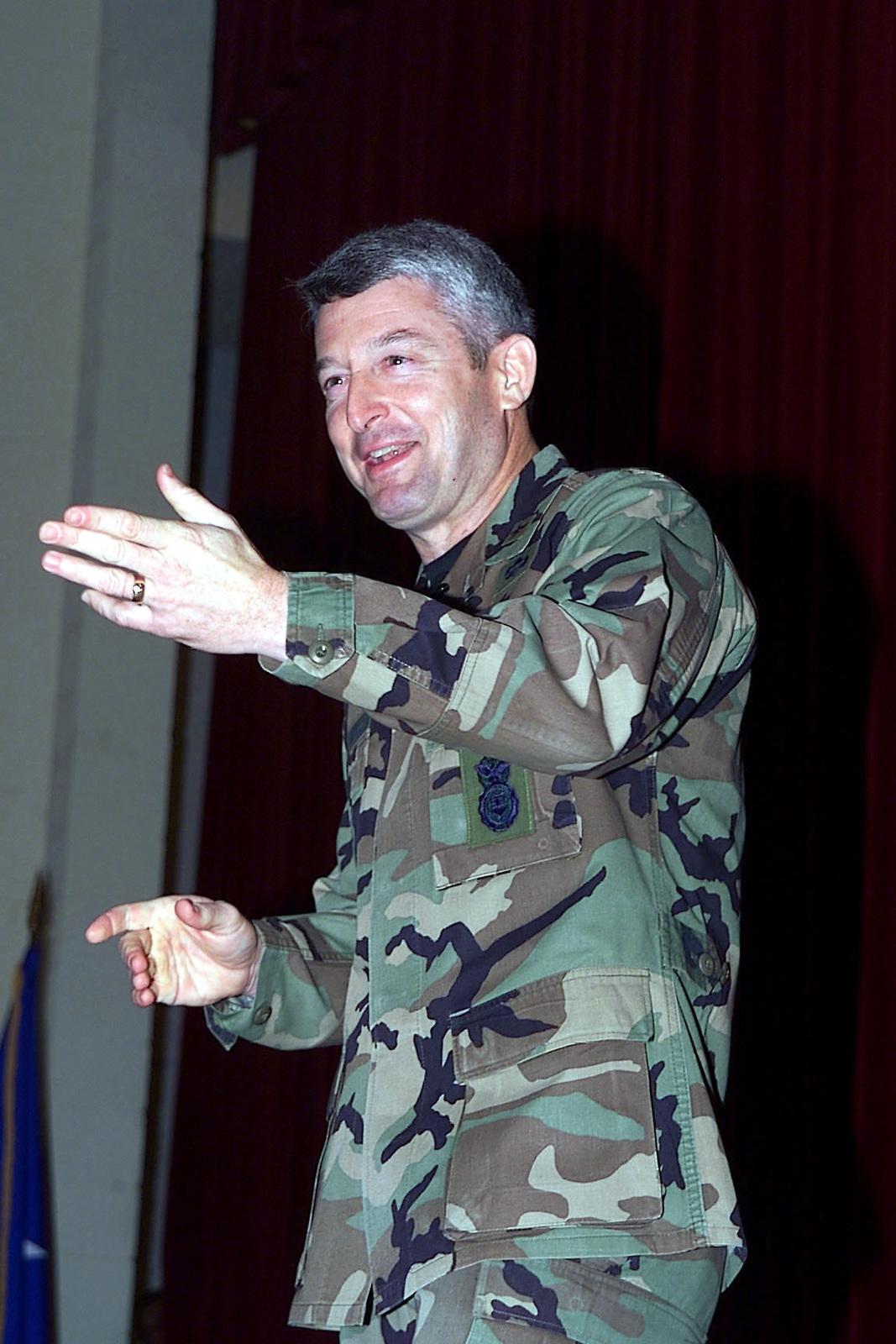 US Air Force Brigadier General James M  Shamess, Director of
