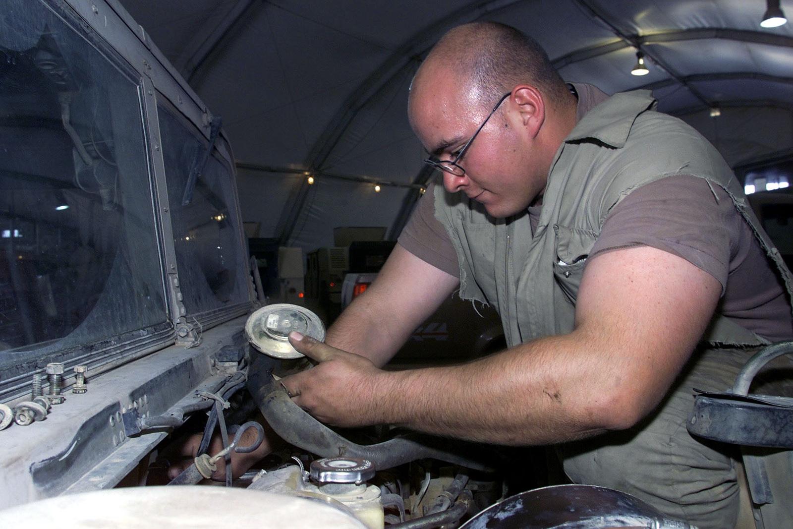 US Air Force SENIOR AIRMAN Jeremy B  Parks, mechanic, 363rd