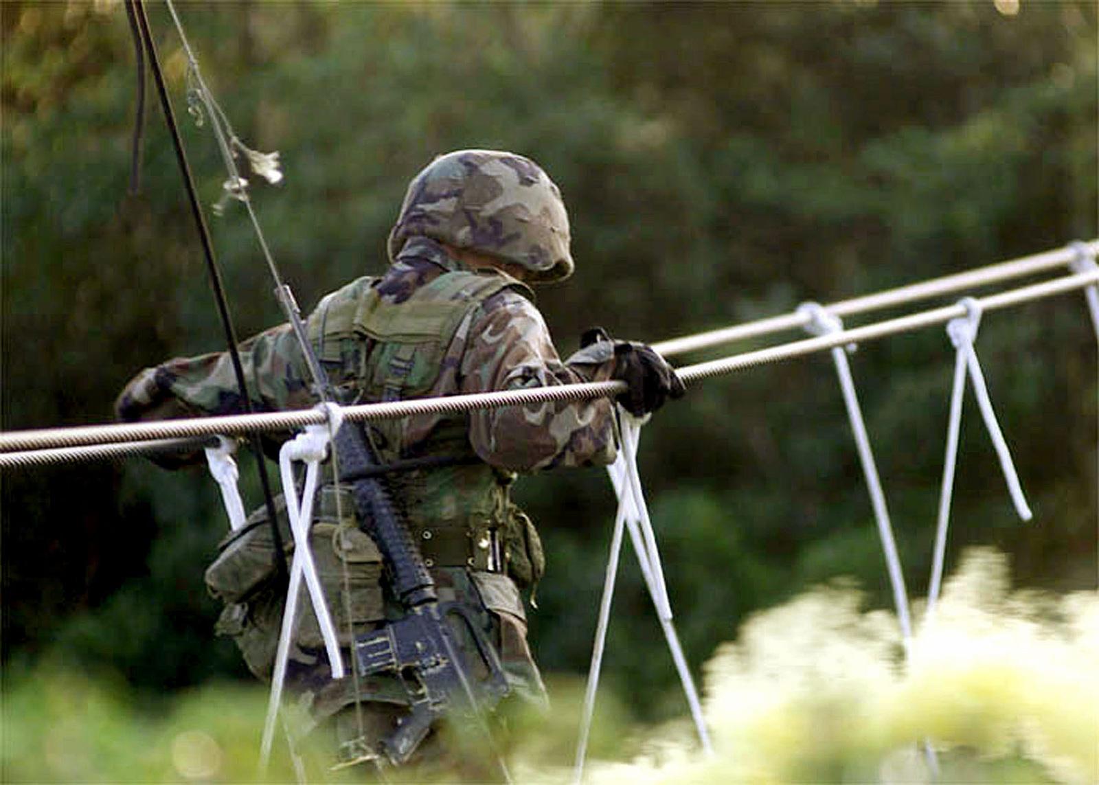US Marine Corps Lance Corporal (LCPL), Brandy L  Guzman, a