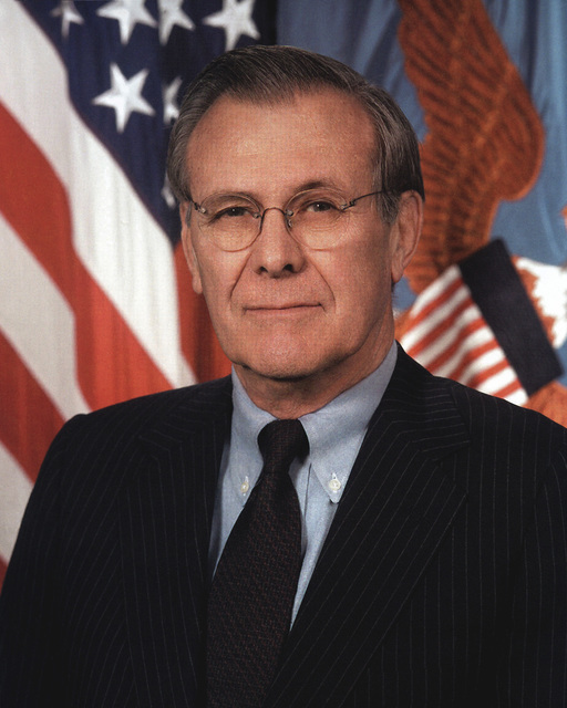 Official Portrait:  The Secretary of Defense, The Honorable Donald H. Rumsfeld