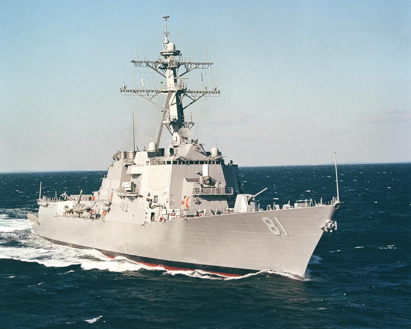 Vessel Identification Photograph USS WINSTON S  CHURCHILL