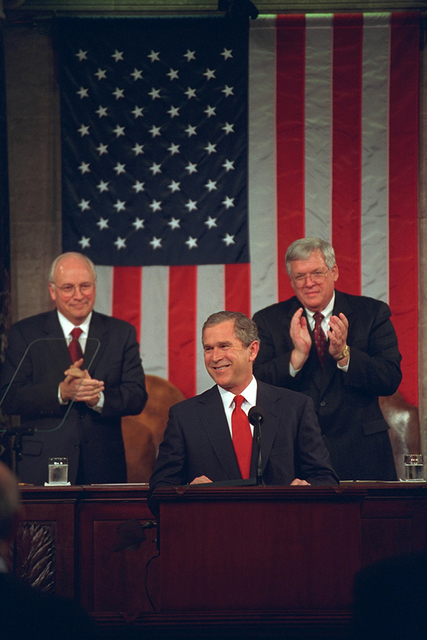 President George W. Bush Remarks to Joint Session of Congress