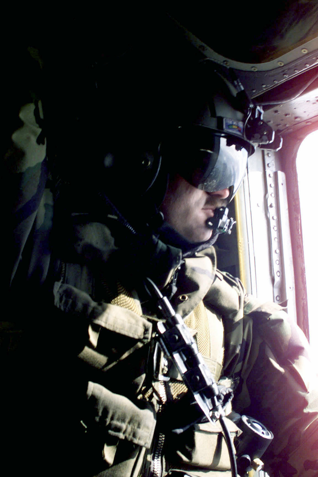 STAFF Sergeant, Strong, USAF, MH-53 Pave Low helicopter