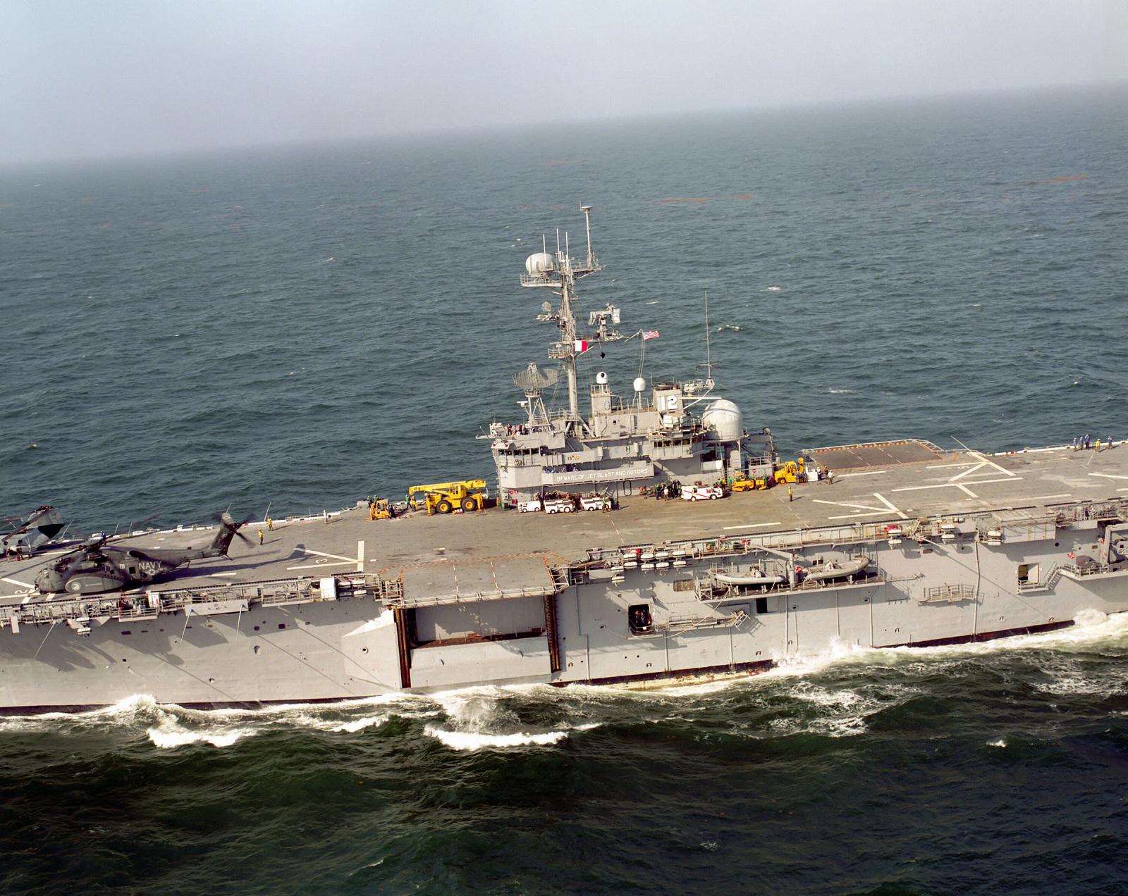 USN Navy Naval Ship Photo Print USS INCHON MCS 12
