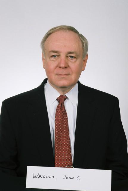 John Weicher, Passport Photo - Passport photo of John Weicher, Assistant Secretary for Housing-Federal Housing Commissioner