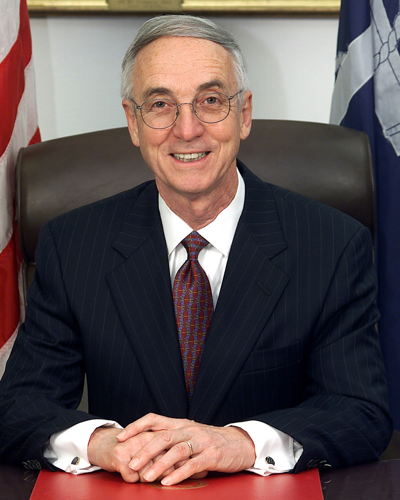 The Honorable Gordon R. England, Secretary of the Navy (Duplicate image, also see DN-SD-02-06180 or N0113-PAA-01-033)