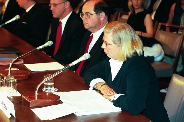 Captiol Hill Confirmation Hearings for Judith Ayres, Tracy Mehan, and Robert Fabricant [412-APD-A24-ROLL19F9_036_36.JPG]