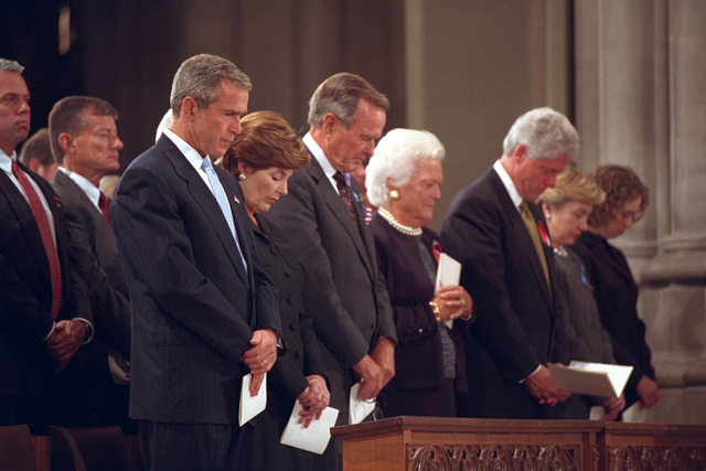 911:  President George W. Bush at National Cathedral