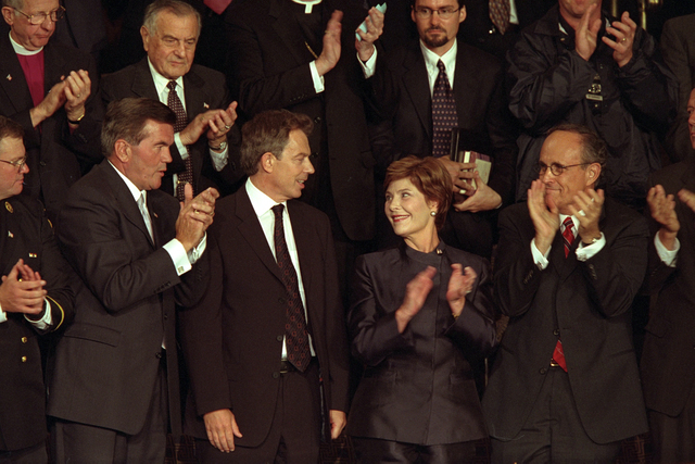 911:  President George W. Bush Addresses Joint Session of Congress