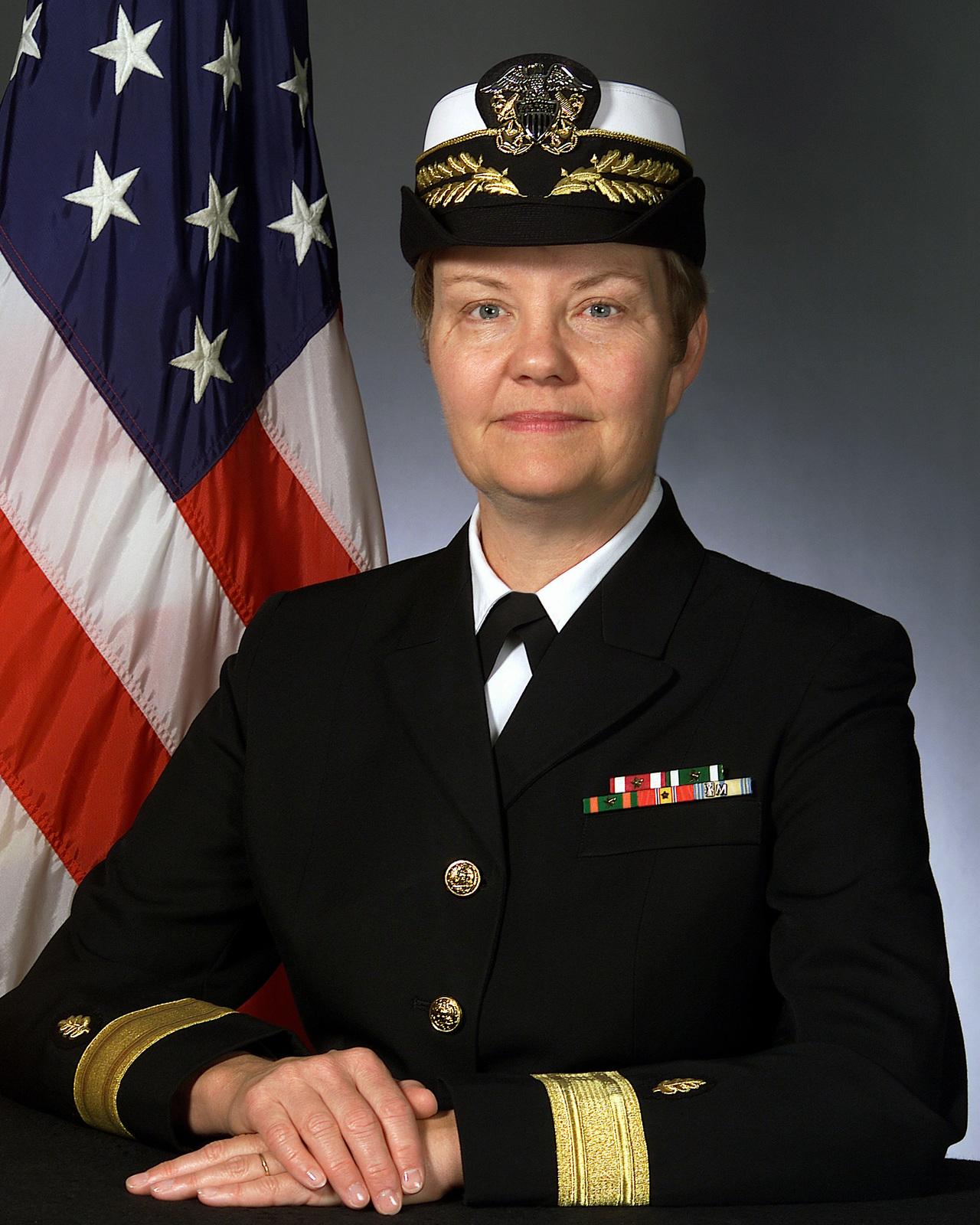 Rear Admiral (lower half) Elizabeth M. Morris(Covered)