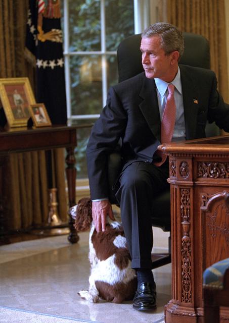 911:  President George W. Bush in Oval Office