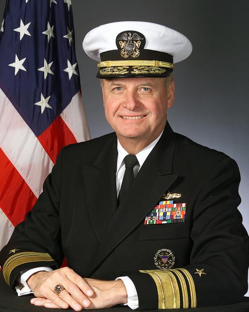 Vice Admiral Gordon S. Holder(Covered)