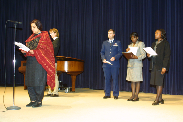 [Assignment: 59-CF-DS-034A-02] Department-wide Interfaith Memorial Service in Dean Acheson Auditorium [Photographer: Shawn Moore--State] [59-CF-DS-034A-02_IMG_2152.jpg]