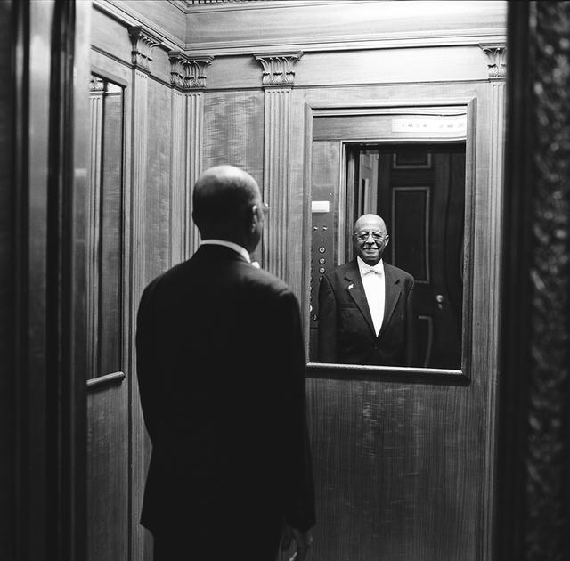 Portrait of Jerome E. Warren, White House Residence Doorman