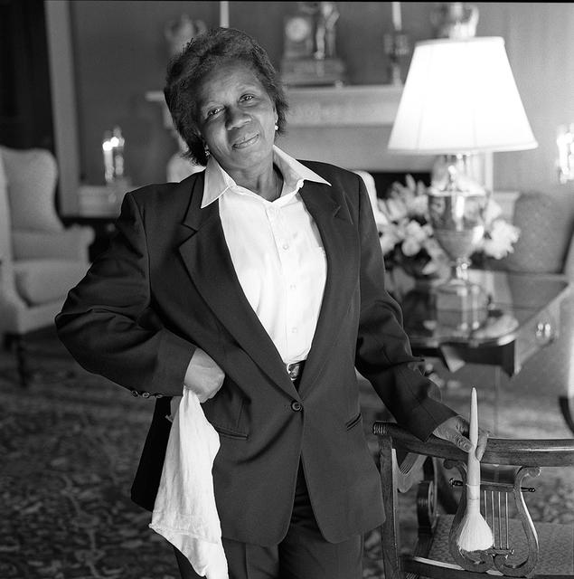 Portrait of Maria Carmen Martins, White House Residence Room Attendant