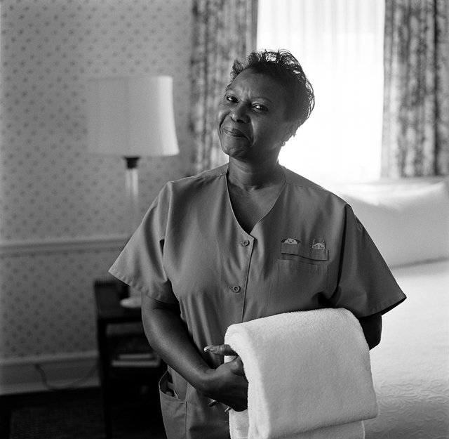 Portrait of Mary Frances Arnold, White House Residence Housekeeper