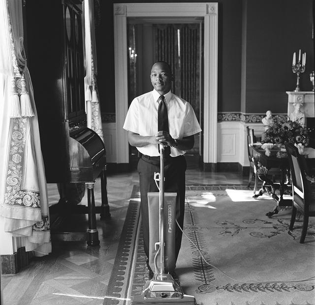 Portrait of Willie E. Murchison, White House Houseman